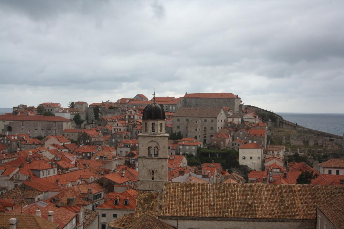 Dubrovnic, en smuk og velbevaretmiddelalderby