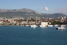 Split, Kroatiens anden største by, smuk og gammelt møder det nye og moderne