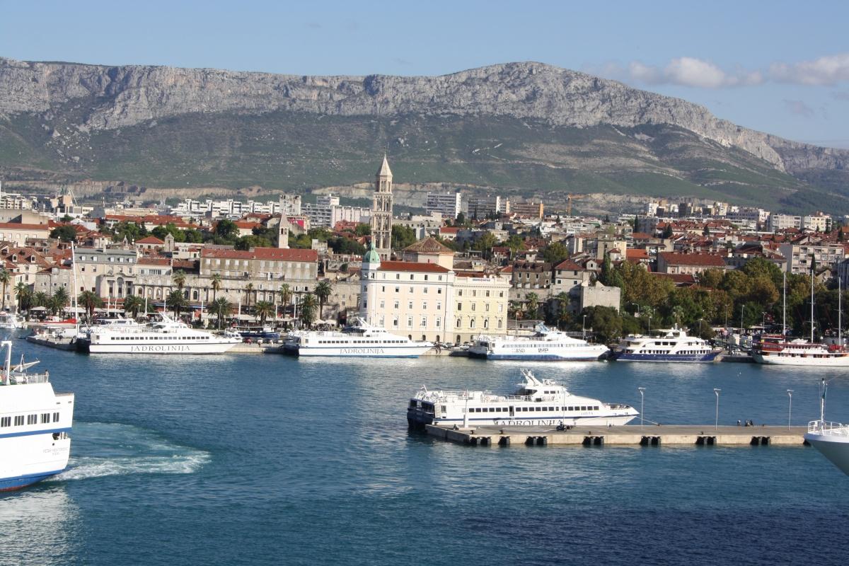 Split i Kroatien
