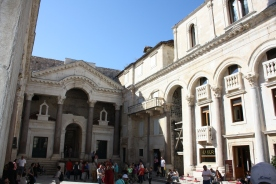 Diocletian's Palace en af de mest velbevarede ruiner i middelhavsregionen fra romerriget