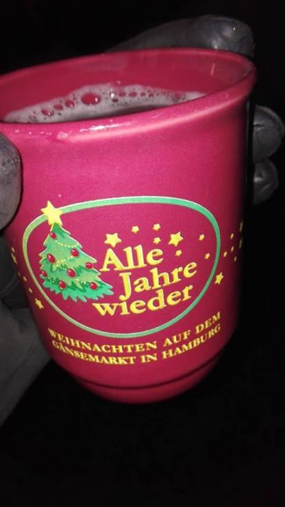 Hvert julemarked havde deres egen kop til gluhwein