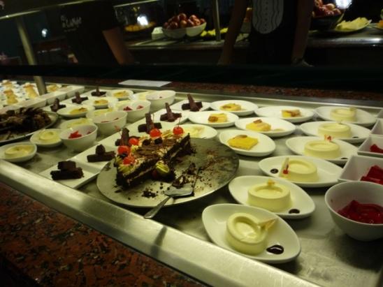 Buffet Desserter NCL Jade