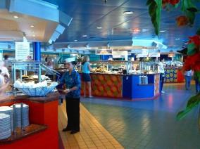 Garden Cafe - Buffet restaurant på NCL Jade