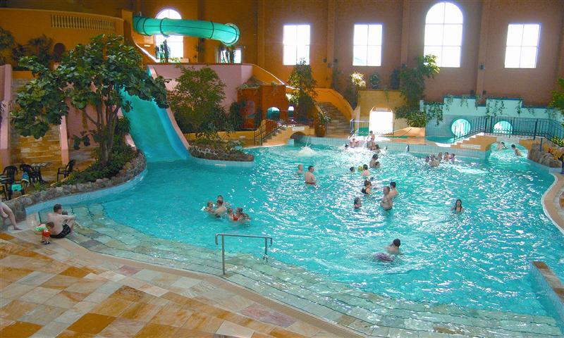 Van Der Valk ferieresort og badeland