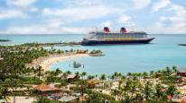 Disneys private i ved Bamuda - Billedet er lånt fra Disney Cruise line