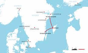 Man kan komme med færgen til Gotland fra Oskarshamn eller Nynäshamn