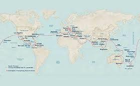 Den store jordomsejling med Princes Cruises