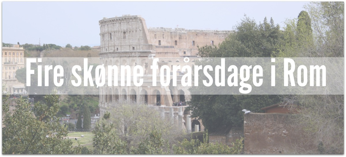 Forårsdage i Rom