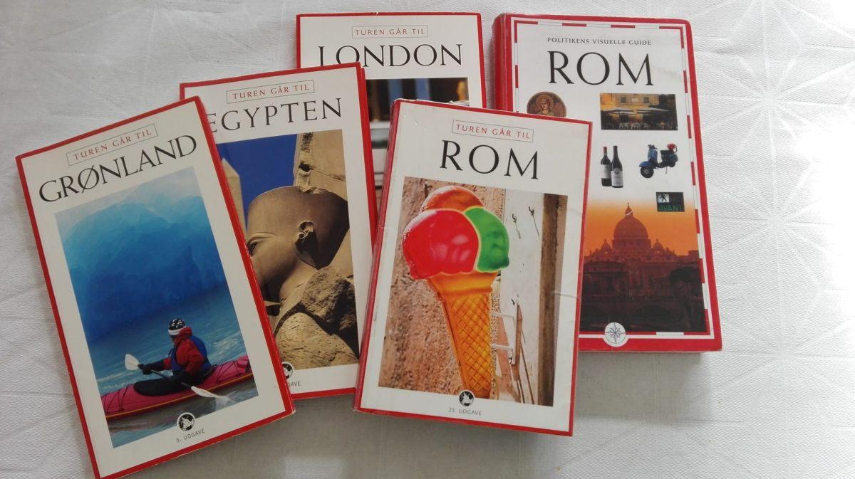Lån dine rejsebøger påbiblioteket