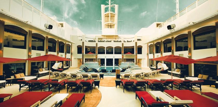 Bestiller du en suite vil du få adgang til særlige områder eksklusivt for suite gæster om bord