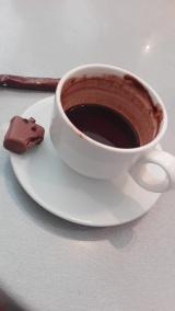 Chokolade med chokolade på chokolademuseet