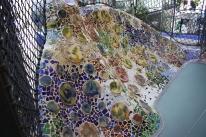 Mosaikker i gårdhaven
